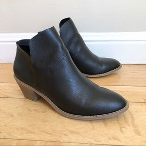 Universal Thread Faux Leather Ankle Boots